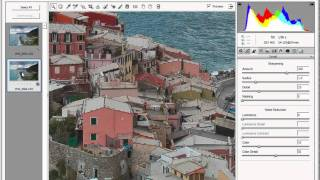 Paul James, Italy Photographic Workshop -- Photoshop Tutorial of Vernazza Italy #2