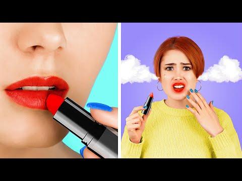 12 Lustige DIY Beauty Streiche / Streich Kriege!