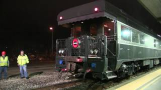 Switching Private Rail cars from Amtrak!