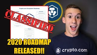 Crypto.com OFFICIAL 2020 Road-Map is INSANE!!! $CRO set to SURGE!!!