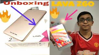 Unboxing lava Z60🔥🔥🔥By Chaitanya Pimputkar   Best budget phone 2018