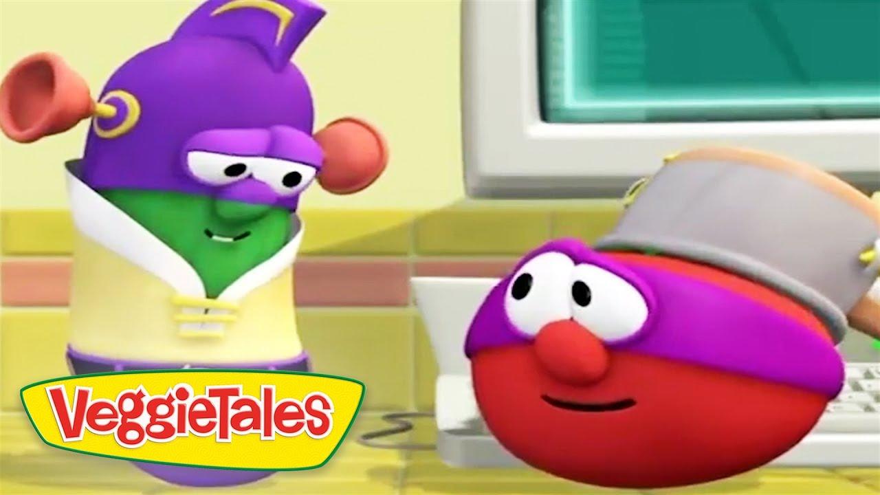 Veggietales | Larry The Cucumber and Bob The Tomato Best ... Veggie Tales Larry The Cucumber And Bob The Tomato