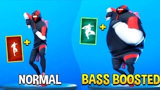 Best Fortnite Dances With Bass Boosted