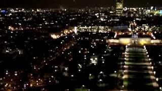 Париж ночной с высоты