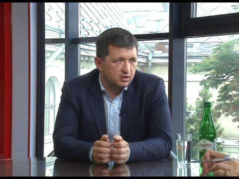 """Любомир Жупанський і Володимир Колесник у програмі """"Новий погляд"""""""