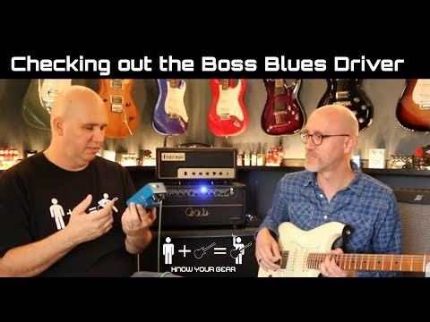 Checking Out The Boss Blues Driver Pedal
