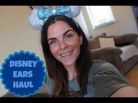 DISNEY EARS HAUL  Minnie Mouse personalised Etsy ears