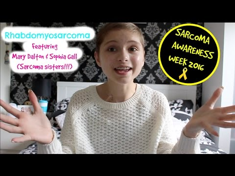 Rhabdomyosarcoma | Sarcoma awareness week 2016