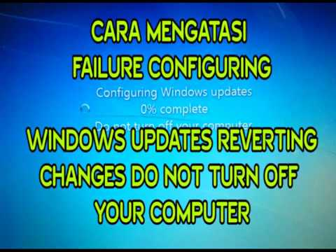 failure to configure windows updates windows 7 stuck