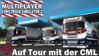 ETS2 MULTIPLAYER [SIM2] #1142 Auf Tour mit der CML I Euro Truck Simulator 2