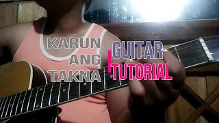 Karun ang takna By Victory band- Guitar Tutorial