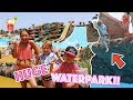 HUGE WATERPARK TRIP! + THE GIRLS JUMP OFF A CLIFF!