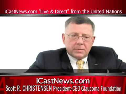 ITAR TASS CHIEF INTERVIEWS PRES. GLAUCOMA FOND-03 09