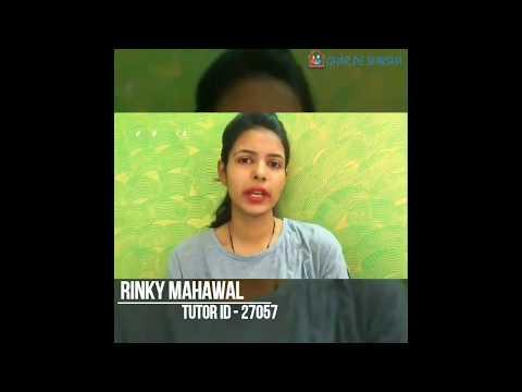 Ghar pe shiksha- | Tutor Testimonial |