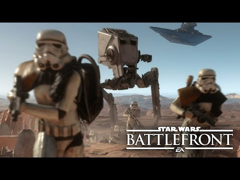 "Star Wars Battlefront: Co-Op Missions Gameplay Reveal | E3 2015 ""Survival Mode"" On Tatooine"