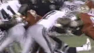 NFL - Napoleon McCallum - Gruesome knee injury