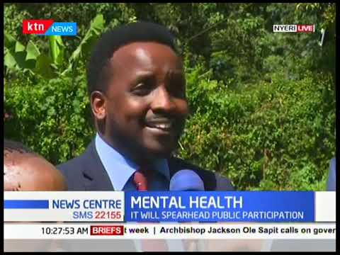 Ministry of health form task-force to address mental health in Nyeri county