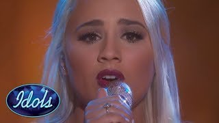 Video Gabby Barrett Sings Whitney Houston's I Have Nothing On American Idol 2018 | Idols Global download MP3, 3GP, MP4, WEBM, AVI, FLV Mei 2018