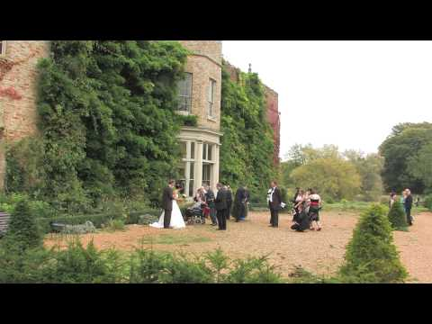 Narborough Hall Gardens Wedding Highlights