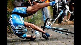 Падения с велосипеда. Как избежать, что делать после