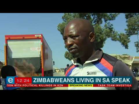 We speak to Zimbabweans in SA about the election result
