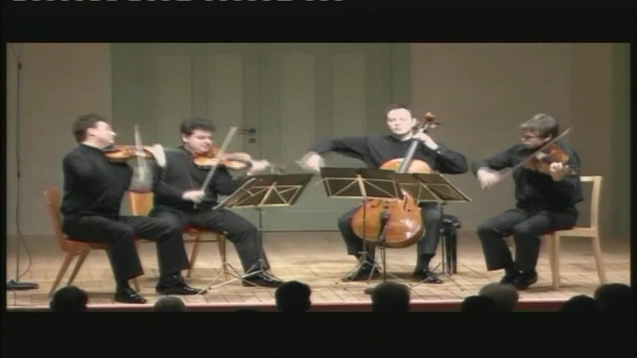 Jerusalem Quartet Joseph Haydn String Quartet Op 77 n 1 IV Presto