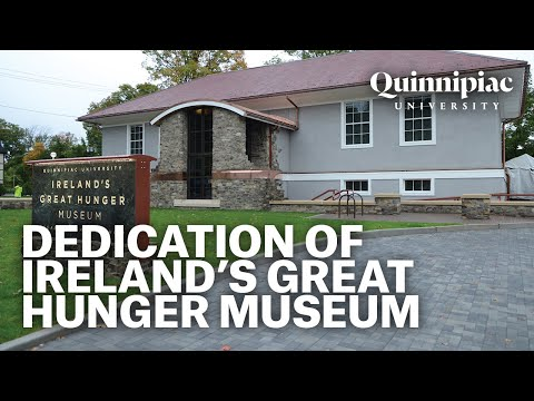 Dedication of MUSAEM AN GHORTA MHÓIR, Ireland's Great Hunger Museum