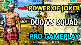 Free fire pro gameplay (pro tricks) in telugu ||Duo vs squad||
