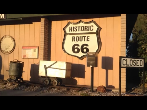 Free Museum: Barstow, California; also Murals on Route 66