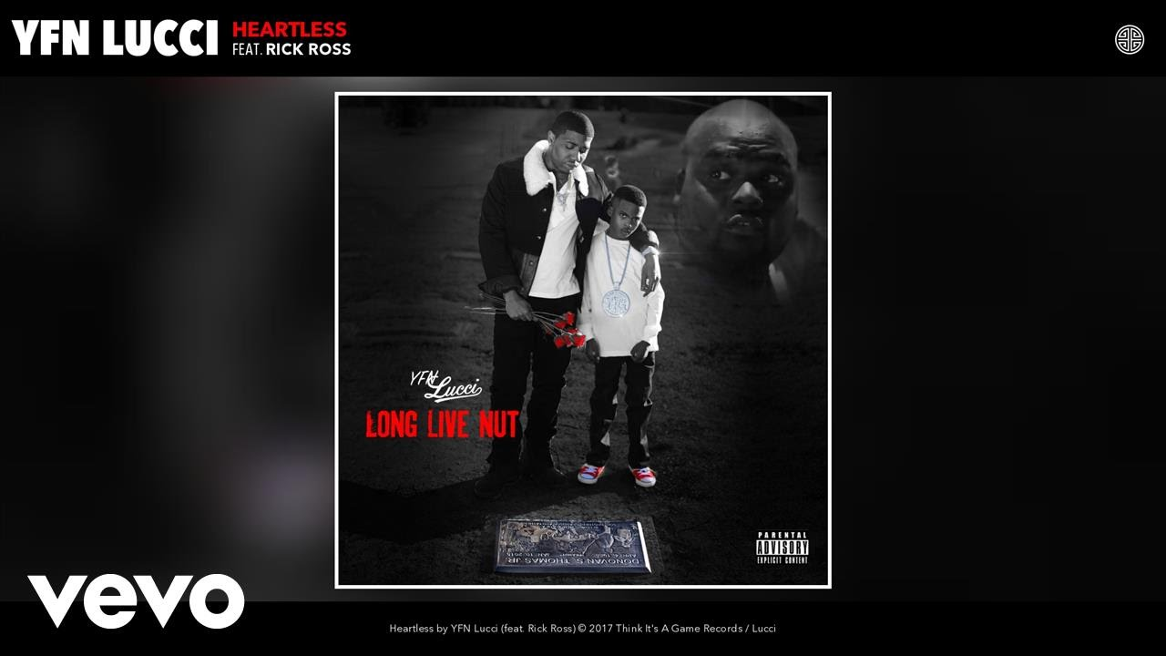 YFN Lucci - Heartless (Audio) ft  Rick Ross