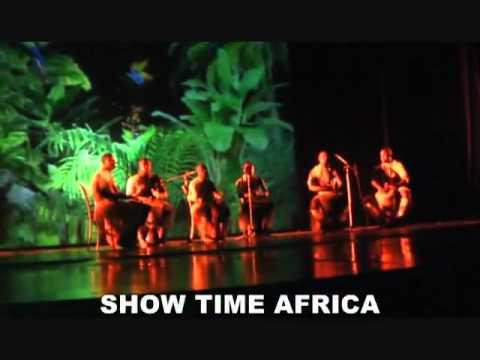 Африканские танцы и барабаны.flv