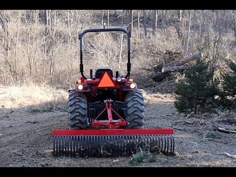 #391 Great Solution For This Problem, The Landscape Rake For Your Compact  Tractor!