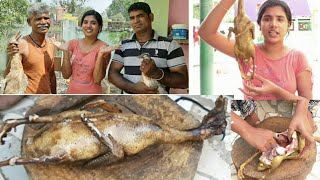 Amazing Duck Cleaning & Cutting Vlog in my home with family😍/kanmani vlogs