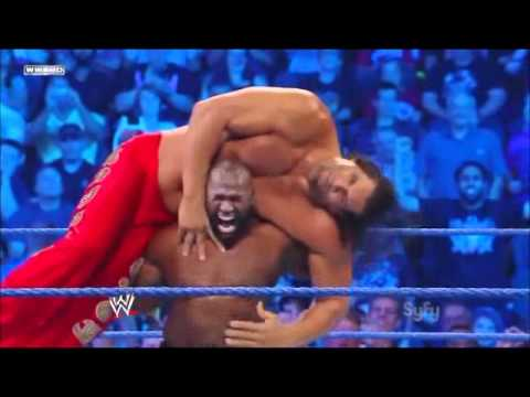 Ezekiel Jackson Makes The Great Khali Tap Out!!!