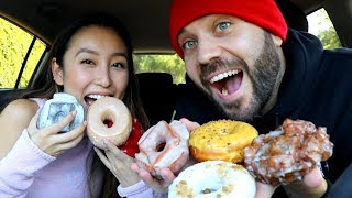 TRYING GOURMET DONUTS with SMOSH STAR OLIVIA SUI!!