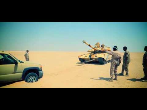 Ria Novosti   T 90MS Main Battle Tank Testing In Kuwait 1080p