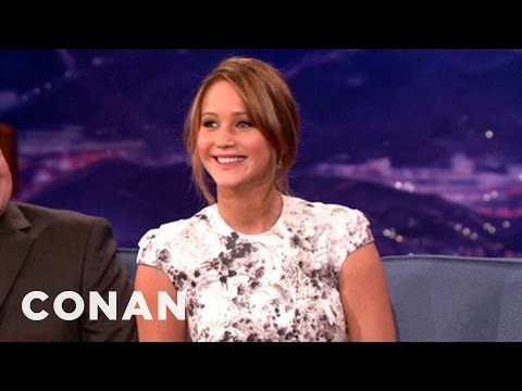 "Jennifer Lawrence's Big Break Was As A Mascot On ""Monk"" - CONAN on TBS"