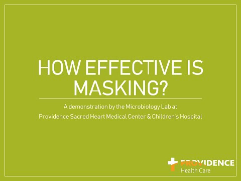 How effective is wearing a mask?