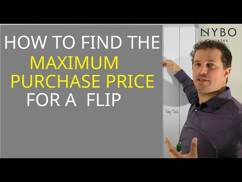 The QUICKEST Way to Know How Much You Can Pay For A Flip Property