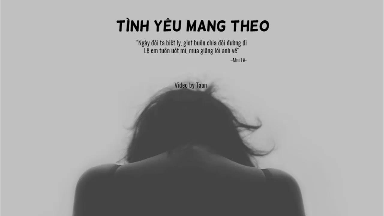 Photo of Tình Yêu Mang Theo ( remix ) || Miu Lê [ Replay 1hour ]  tuyệt vời