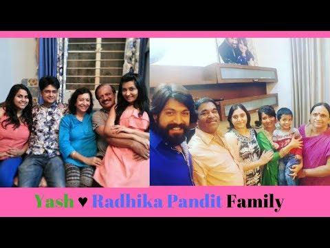 YASH AND RADHIKA PANDIT Family Photos