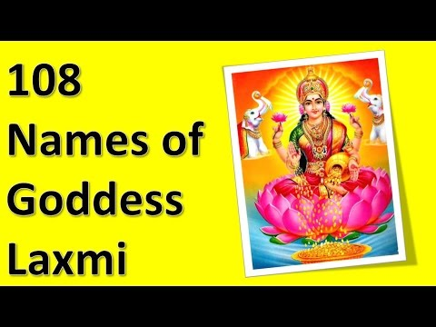 108 Names Of Goddess Laxmi