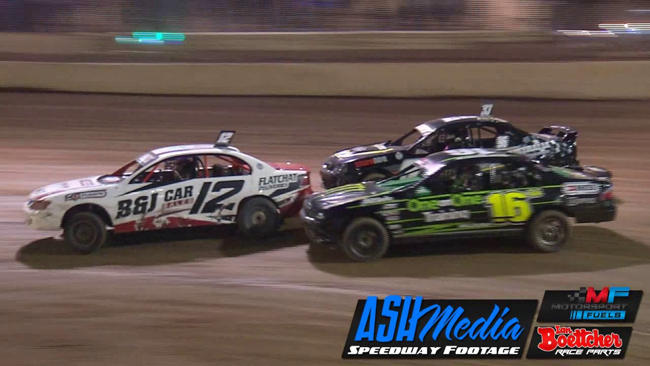 Modified Sedans Australian Title Heat Race Highlights Night
