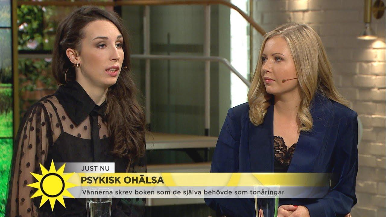 De möttes på psykakuten – nu har de skrivit en handbok om psykiskt ohälsa ihop - Nyhetsmorgon (TV4)