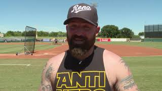 Player/Actor Cody Decker Sweats It Out With Kyle