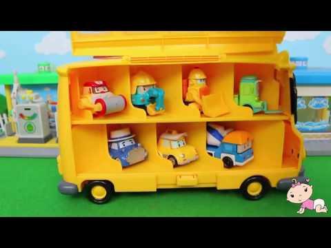 Тайо Маленький автобус Игрушки для малышей  Tayo The Little Bus Toys For Kids