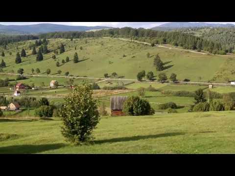 Train through Romania -Brasov to Targu Mures