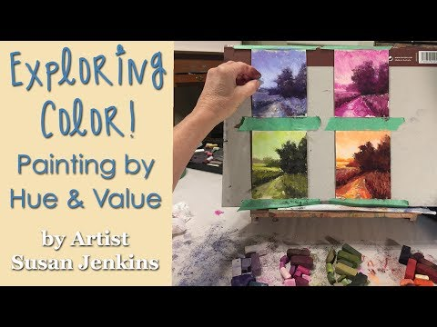 Exploring Color! Painting by Hue and Value