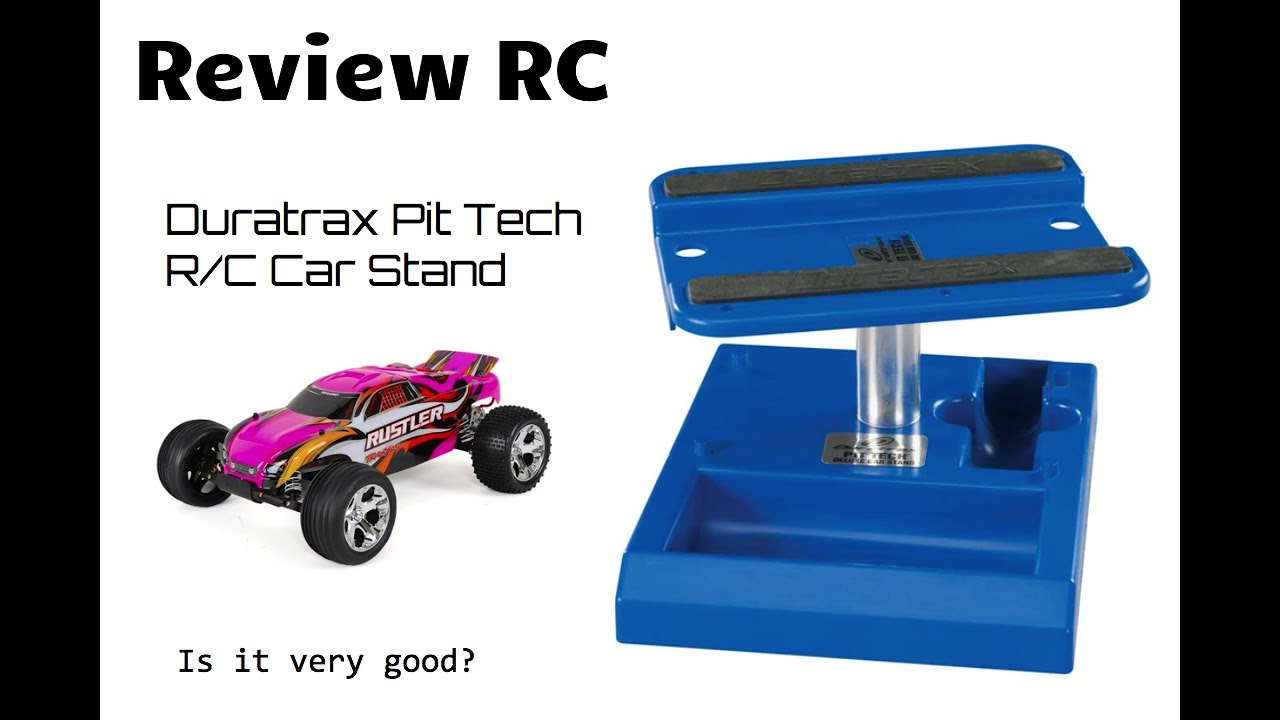 DTXC2371 DuraTrax Pit Tech Deluxe Car Stand Orange