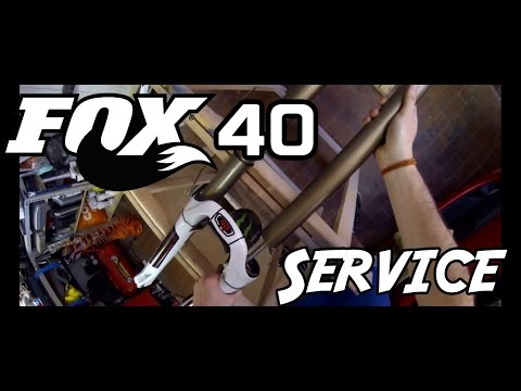 How to maintain Fork Fox 40 - manutenzione forcella mtb